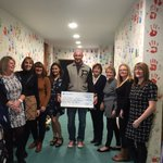 The inspiring Alfie's angels delivering our 1/2 marathon fund raising cheque to the worthy people @tyhafan https://t.co/mtqFqGxUQt