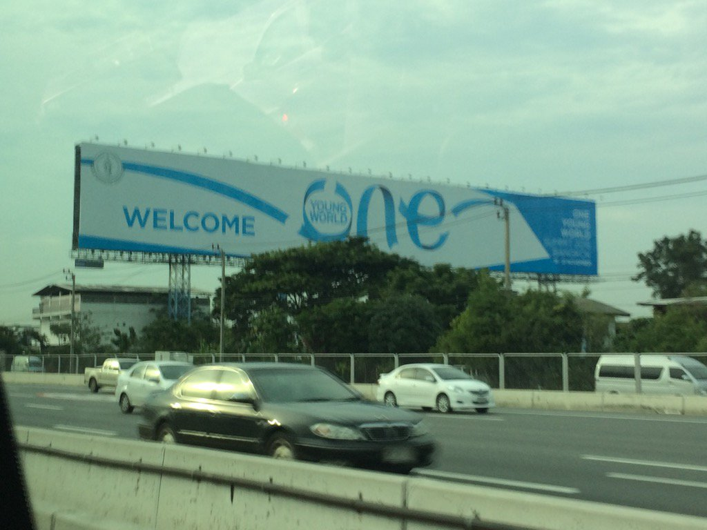Wow here we come! @OneYoungWorld #oyw https://t.co/afX7vbReLn