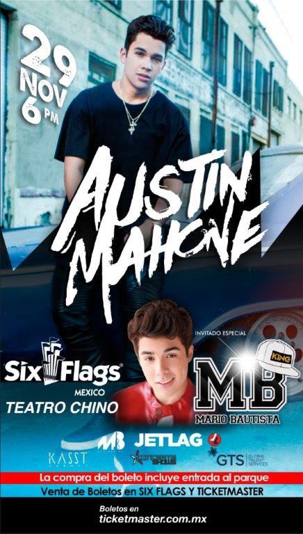 #UnBuenFinEs aprovecharlo para comprar tus boletos para @AustinMahone y @mariobautista_ con un 25% de descuento https://t.co/1VJ9sCRnAm