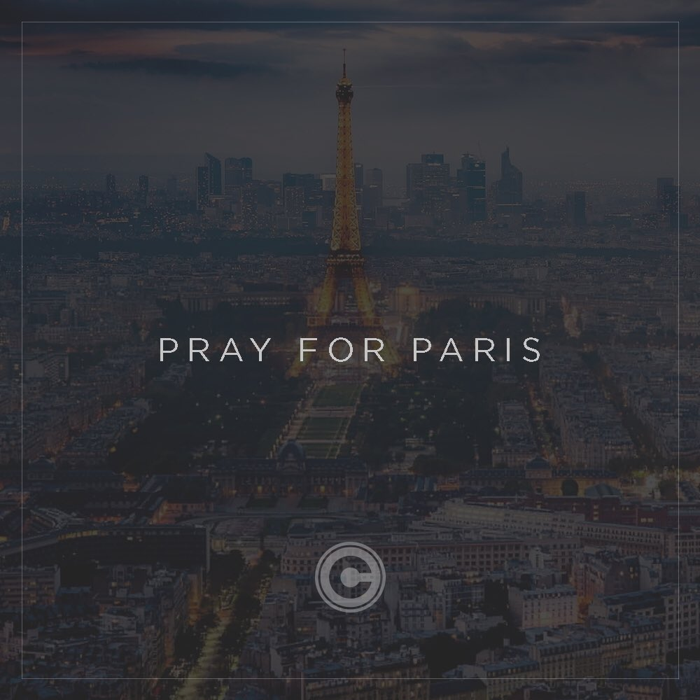 Please join us in praying for Paris and all those who were affected. #PrayForParis https://t.co/5yRl9yEYYf