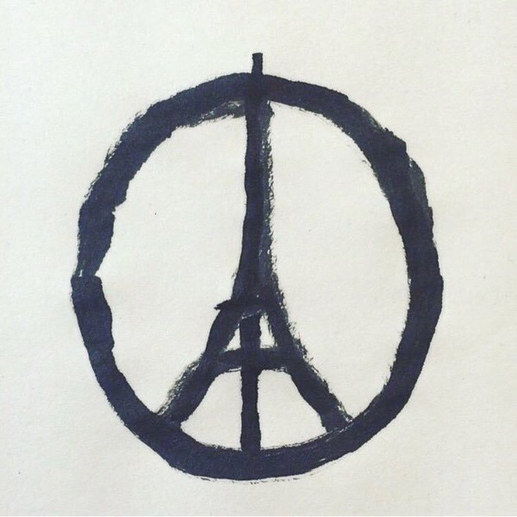 Pray. for Paris. for People.     for Peace. https://t.co/3As09eNPzm