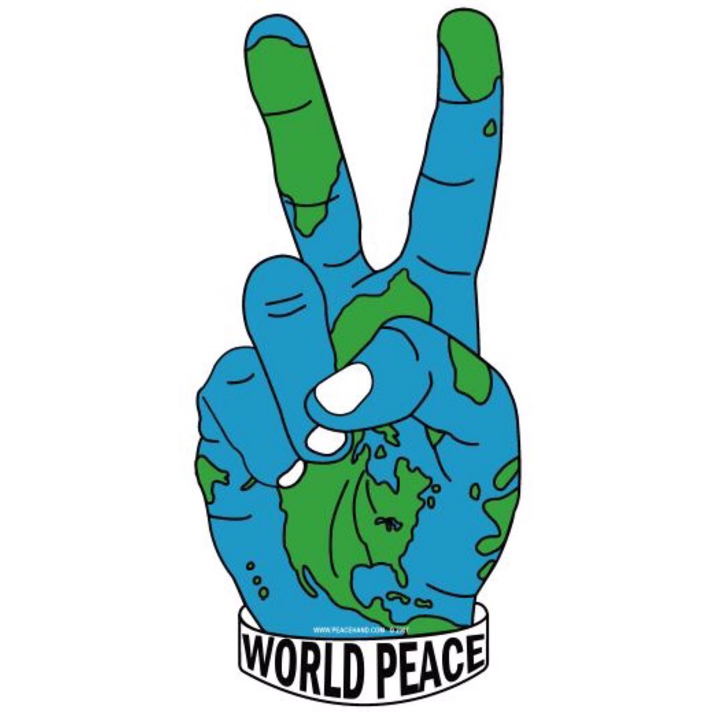 Campaign for #worldpeace https://t.co/9fS17nalTZ
