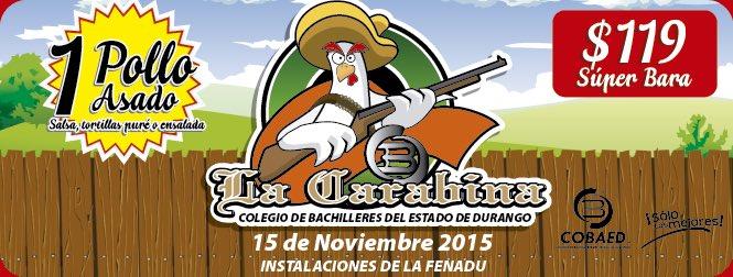 COBAED (@COBAEDoficial): Este domingo disfruta de los ricos pollos del COBAED en la #KermesseDeLaFamilia @chuycabrales @gobdgo @DIF_Durango https://t.co/fTGNaryQ6m