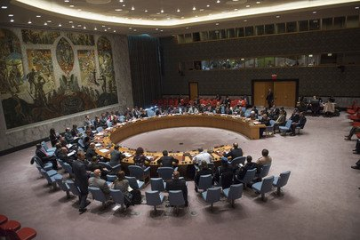 """""""Cowardly and barbaric"""" - @UN Security Council condemns Paris terror attacks. Full statement https://t.co/9Bu9WUjfMM https://t.co/USFRYfmiYN"""