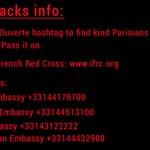 Here are several ways that you can help. Pass it on. #Paris #ParisAttacks https://t.co/HPKpwqJ0Xw /via @nerdist @heykim