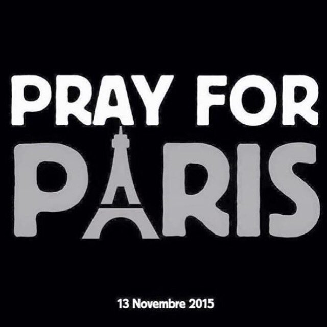 #prayforparis My heart hurts for France tonight. However, the violence around the globe is always heavy in my
