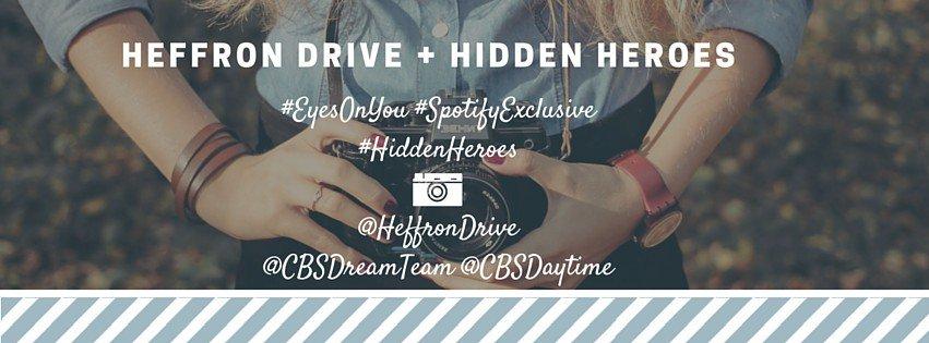 Tomorrow: Watch a NEW episode of @CBSHiddenHeroes AND catch the premiere of @HeffronDrive's #EyesOnYou music video!… https://t.co/H1nez9uWi5