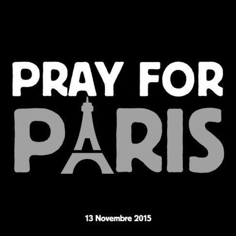 Our hearts break for all those affected by the #Paris tragedies. Just pray. (Photo via @rajjjnair) https://t.co/C9XFp6UXxS