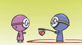 血液型くんです!今日も、血液型の特徴を言っていきます♪A型:嘘をついても、その人に合わせます。B型:アイデア、抜群 血液