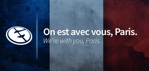 We're with you, #Paris. https://t.co/IRad3M3Knq
