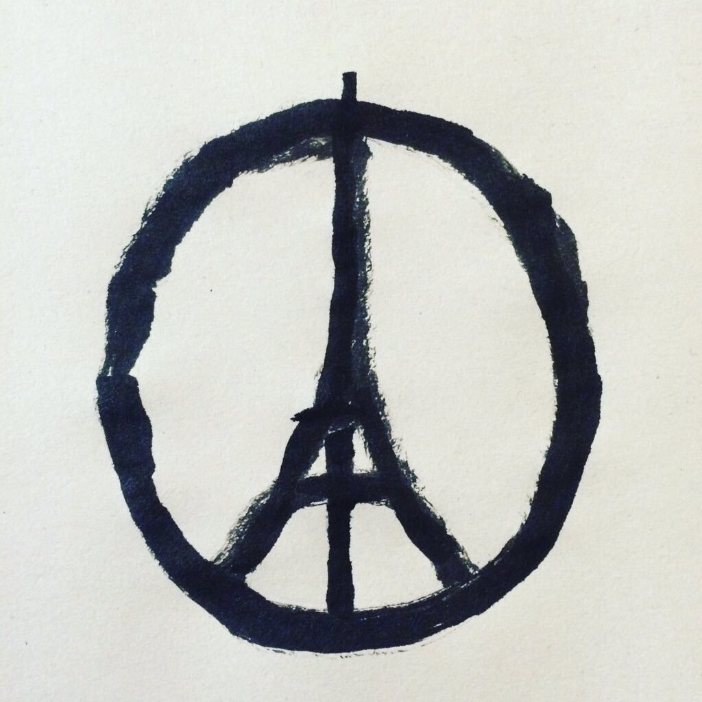 Our thoughts and prayers are with the people in Paris tonight.