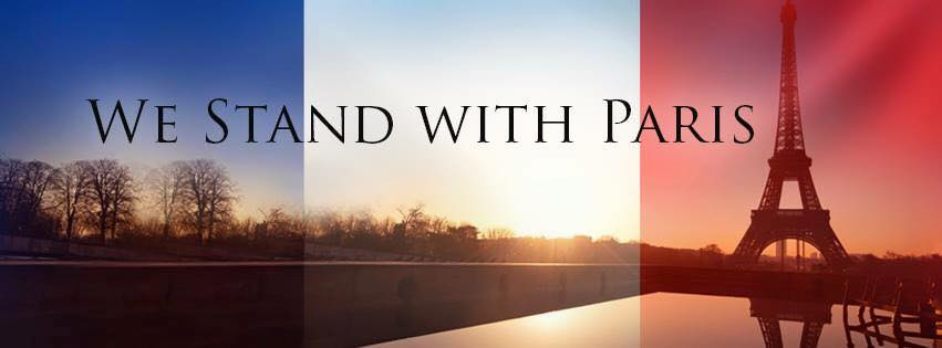 We Stand With Paris. https://t.co/C2xeXcpQKm