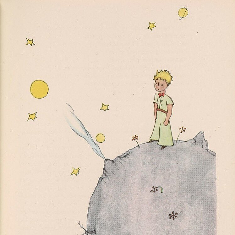 """""""On the Earth one sees all sorts of things."""" —The Little Prince, Antoine de Saint-Exupéry #JeSuisParis #PrayForParis https://t.co/JfPVPp8NzP"""