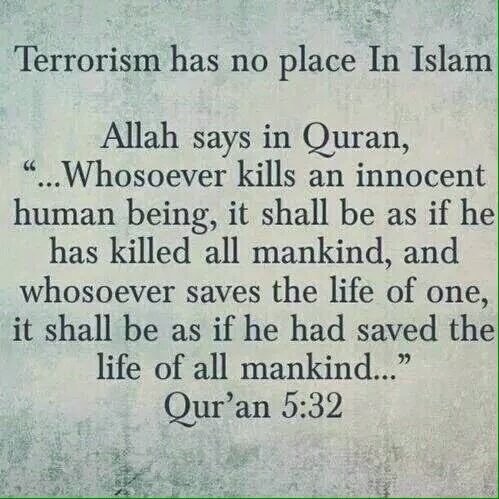 So what are you supposed to believe?  I believe the last one.  TERRORISM HAS NO RELIGION.