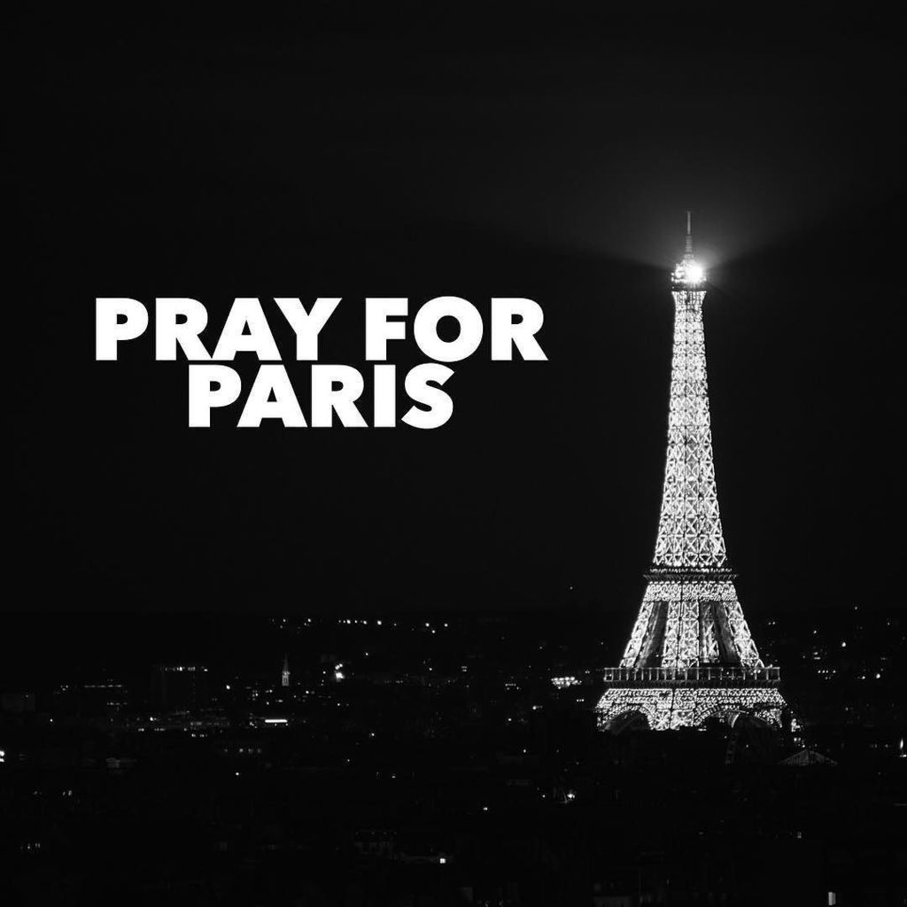 Tonight we #prayforparis after the horrific events of today. https://t.co/EG9KCwG5Sq https://t.co/p8xG5gIQhF