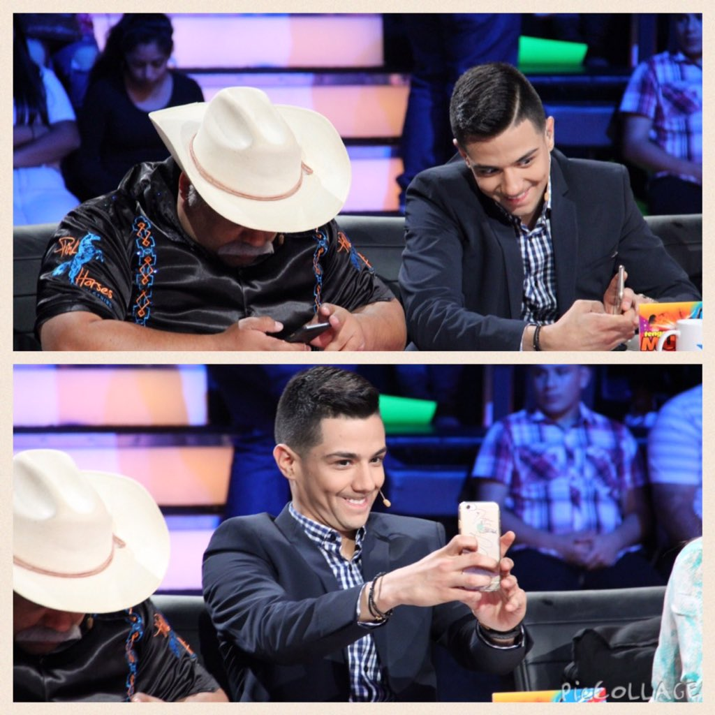 Como se divierte nuestro talentoso juez @luiscoronelmusic ¿Cual #selfie les gusta más? #ttmt #YoSoyTTMT https://t.co/i9sRDTcVuA