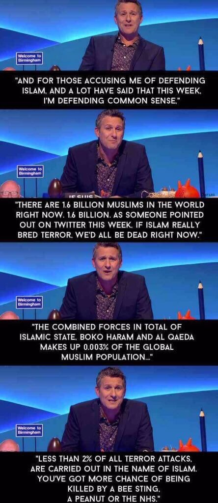 @GingerPimpernel if I see anyone blaming all Muslims for what happened I'm going to be sending them this. https://t.co/AbXOeb8uiH