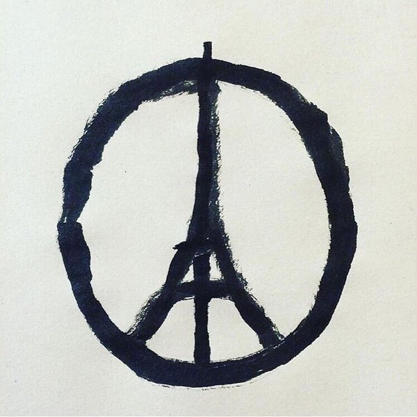 We are with you Paris. https://t.co/ZaABXzBHzT