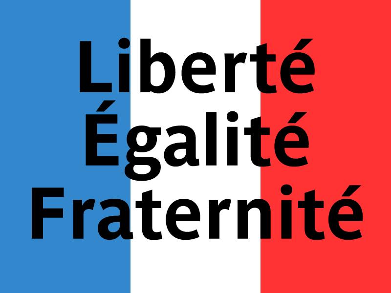 Liberté Égalité Fraternité #Paris #fusillade https://t.co/gM7PItCYnQ