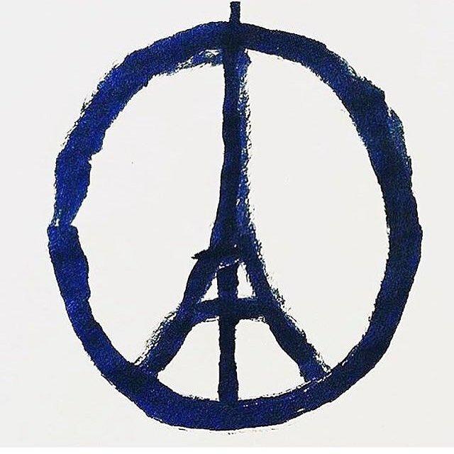 Peace for Paris. Artist: @jean_jullien https://t.co/Z3ZwY1dCsZ