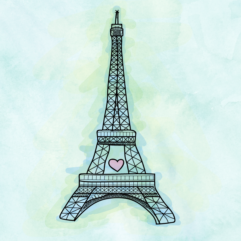 Thoughts and love for Paris.