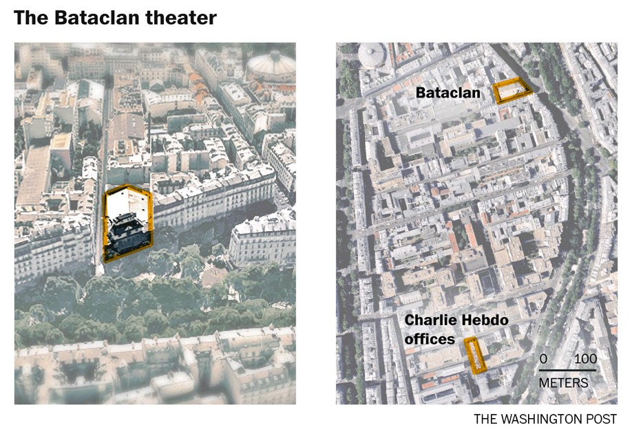 Just published: Maps show where the Paris attacks occurred https://t.co/siUUdqOt7V https://t.co/phwDDYDSY4