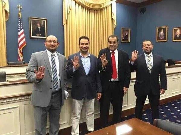Say Hi to the terrorists who are waving to you from the heart of Washington #ParisAttacks #MuslimBrotherhood #ISIS https://t.co/X4qq6rdvgO