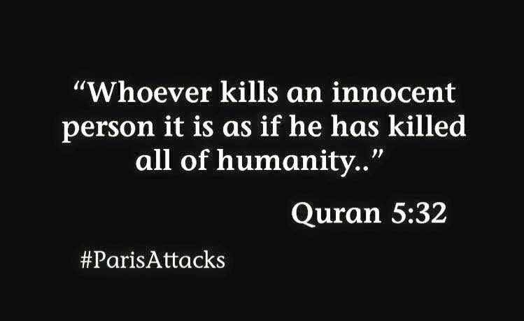 Amen. #ParisAttacks #fuckisis #fuckextremists https://t.co/qqLuDGYngq