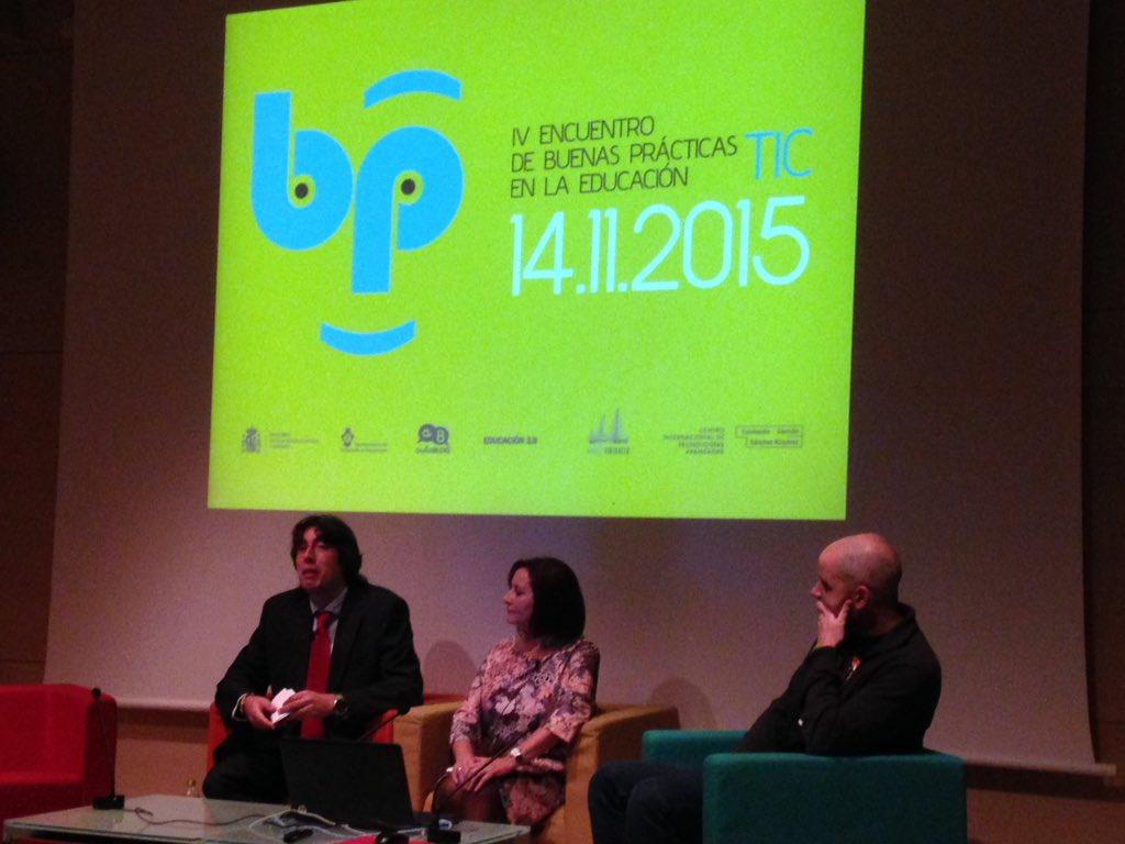 Comenzamos el encuentro #BBPPcita. @aulablog @jfrutoses a la vanguardia de las TIC en educación https://t.co/DeRG4eAXoM