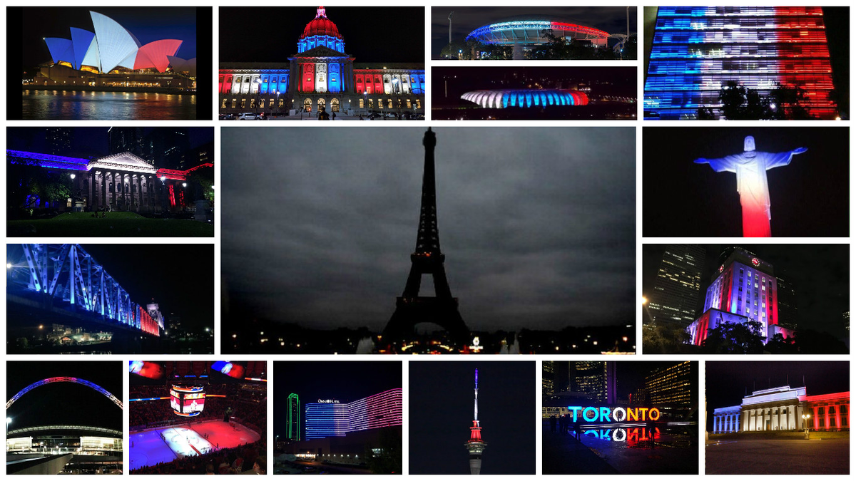 Incredible collection of images from the world giving out #PrayersForParis via Reddit: https://t.co/S93Vod6yJu