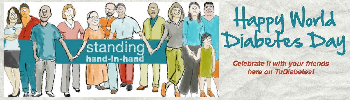 Happy World Diabetes Day #WDD #WDDChat15 https://t.co/PjnNC0dK6G