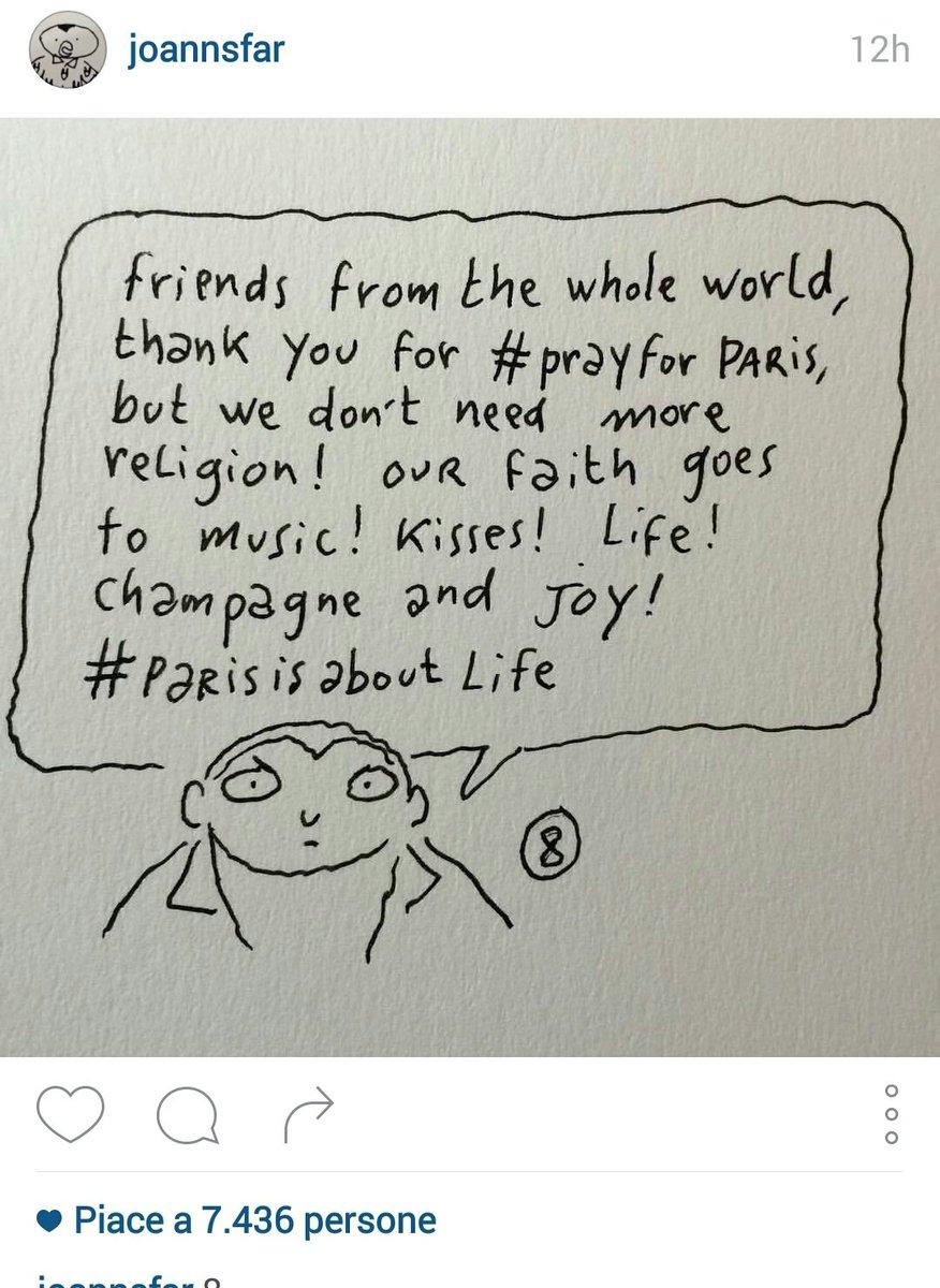 #Paris, ultima di 8, di un fumettista di Charlie Hebdo https://t.co/YHPSF30Gxf