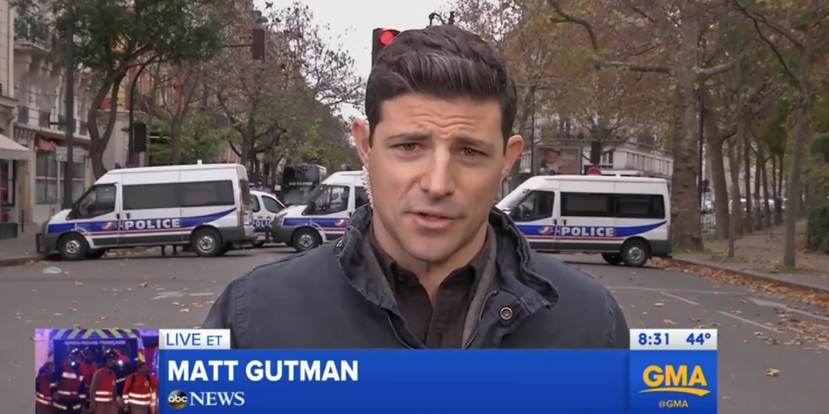 LIVE In Paris MattgutmanABC Says The City May Have A Curfew For