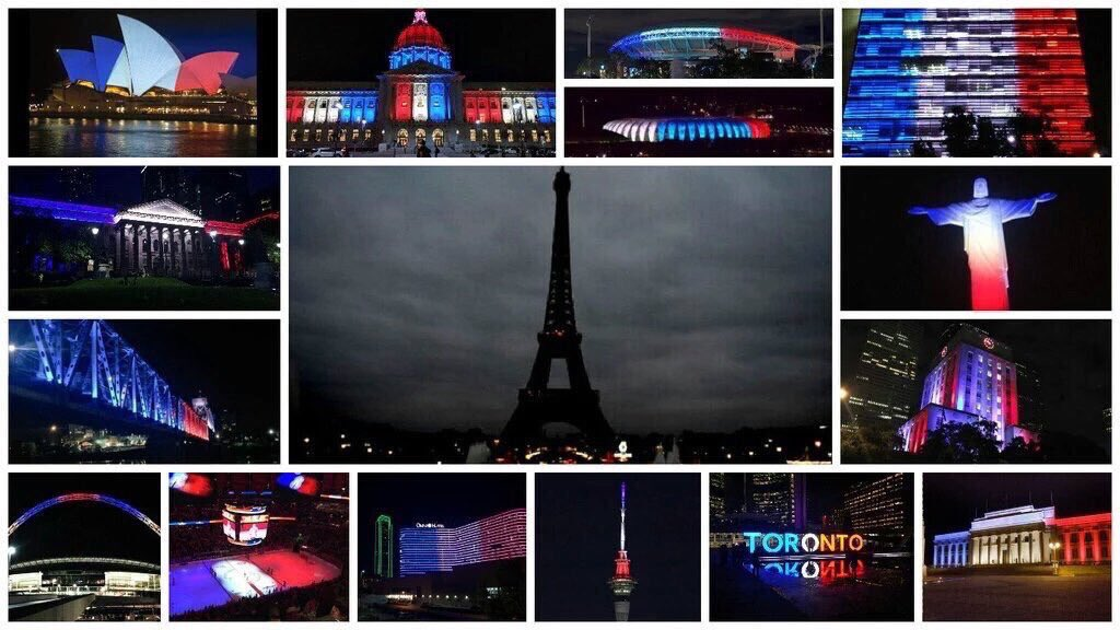 #PrayersForParis