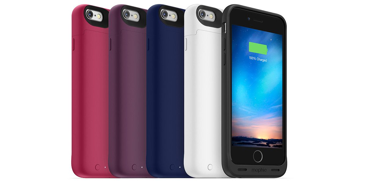 Giveaway: mophie juice pack reserve battery case for iPhone 6/s (multiple winners) https://t.co/Nj2UZPqtjd https://t.co/sDEjukAhKQ