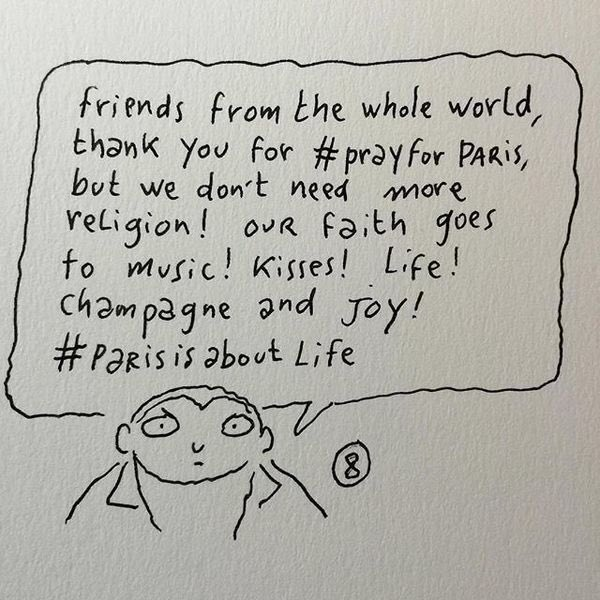 Hear, hear! #paris https://t.co/KKdDZ0mB29