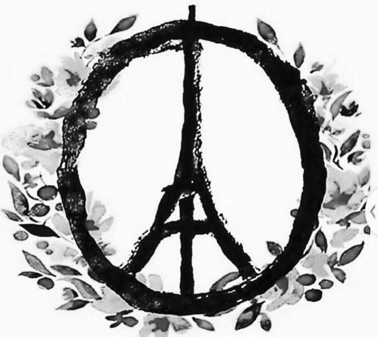 Today's thoughts and prayers continue. Such sadness, such inhumanity. #Prayers4Paris https://t.co/mWdRAGFKuF