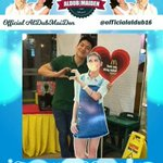 Fanboy Spotted.. Jeron Teng with Maines Standee (c) @jeronteng @mainedcm #HappyBirthdayPochoy https://t.co/9Rd9MHF6Gc