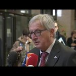 """.@JunckerEU Doorstep: """"We need an agreement to stem the illegal migratory flow into Europe.""""  #EUTurkey https://t.co/b2922SDSmy"""