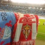 El Sporting reitera su sincero agradecimiento a la afición del @rccelta_oficial por el trato a la Mareona rojiblanca https://t.co/2AuTJBSH1z