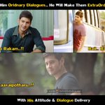 Give Him Ordinary Dialogues.. He Will Make Them Extraordinary.. @urstrulyMahesh ???? https://t.co/GvroUxvAYF
