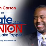 .@RealBenCarson will be on #CNNSOTU to discuss his trip to the Middle East and the refugee crisis at 12 p ET. https://t.co/Uy3zrHv7N0