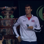 Andy Murray has just shouted at his brother Jamie on court after he disappeared to eat a protein bar #DavisCupFinal https://t.co/AgaQdR9ERa