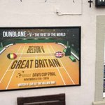 This is the scene on the side of a pub in a snowy Dunblane now... https://t.co/Br8yuCsT5O #DavisCupFinal https://t.co/3F6tgosZHX