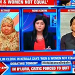 Here are representatives of Indias Muslims discussing why Muslim women are made inferior to Muslim men. https://t.co/vMRpvKOCME
