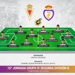 XI Real Jaén CF. #MURvRJA #HalaJaen https://t.co/ik6QgAZPvV