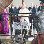 Horror! Prayer. How Pope Francis reacted to graphic depiction of martyrdom at Ugandas Anglican shrine #PopeinAfrica https://t.co/Oo5Me3VvVY