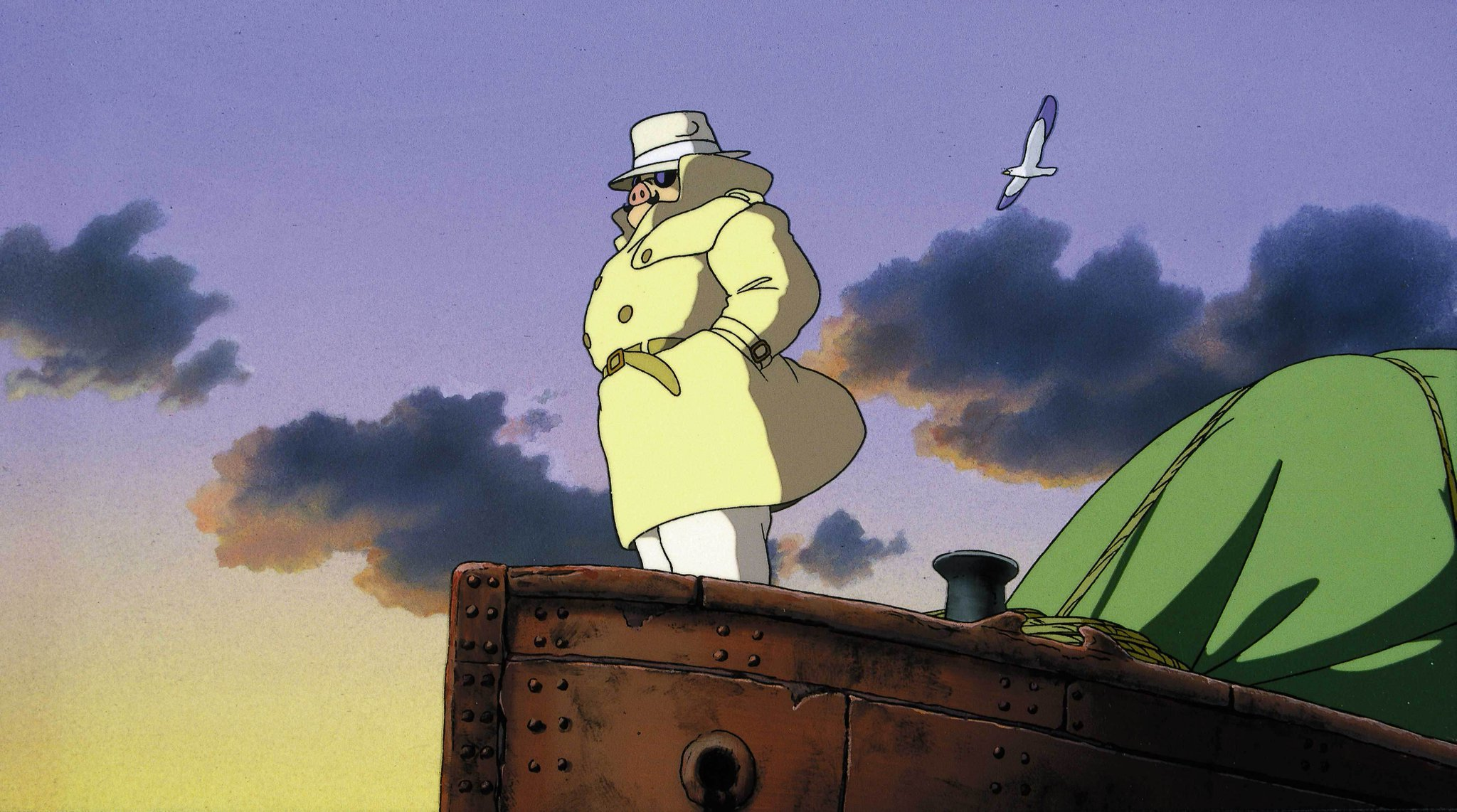 At 11am, a flying ace faces his deadliest opponent in Studio Ghibli's airborne animated adventure Porco Rosso. https://t.co/C5Mh5ns3kx