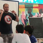 Live From #Mumbai: @abhikini Sharing Some Awesome Tips To Drawing Your Own Comics At @Hs3Mumbai https://t.co/bOpfITFlPY