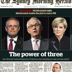 Tomorrows front page of The Sydney Morning Herald. https://t.co/ban2OikTo8 https://t.co/ECh93LsoPv